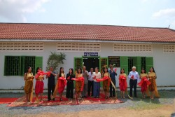 A new special library has opened at Kraing Sramor High School (Kampong Chhnang Province)