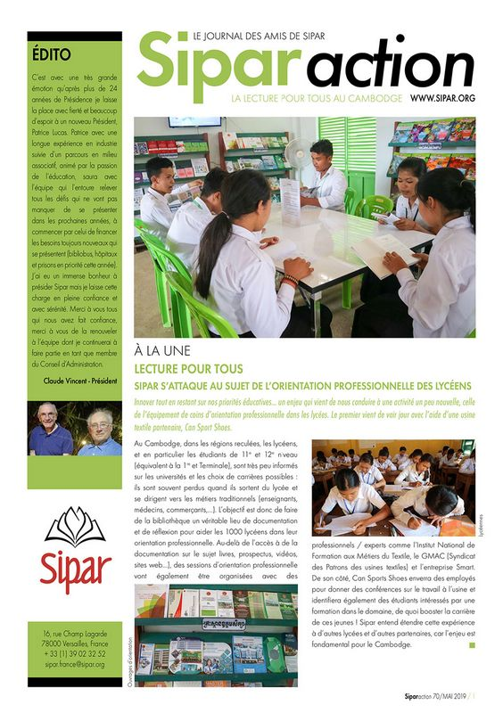 Sipar Action news June 2019
